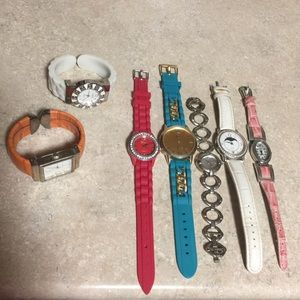 🎀3 for $20 7pairs of watches sale various colors